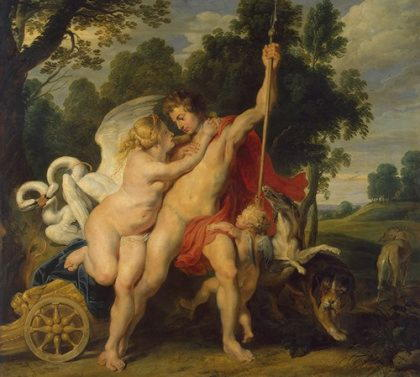 Афродита и арес секс