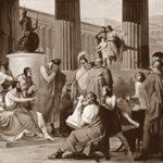 Алкиной, царь счастливых феаков, принявший Одиссея