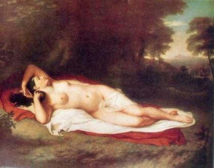 Дж. Вандерлин - Ариадна на Наксосе. 1814