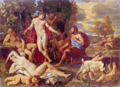 Бахус   одно из имен бога вина Диониса