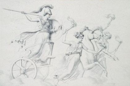 Беллона   богиня войны, сестра бога Марса