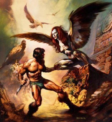 Гарпии   отвратительные женщины с птичьими крыльями