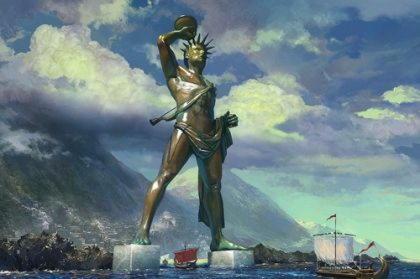 Гелиос (Гелий), бог солнца, сын титанов