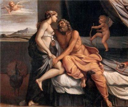 Зевс и гера секс