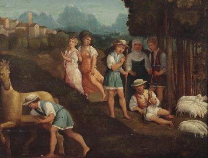 Гиг   пастух, ставший царем Лидии, обладатель волшебного перстня