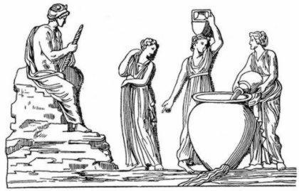 Гипермнестра   дочь Даная, которая ослушалась отца и не убила своего мужа Линкея