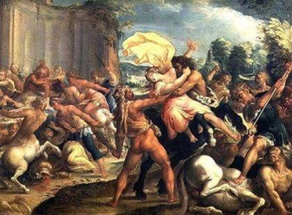 Гипподамия (Ипподамия)   жена Перифоя, на свадьбе которой произошла битва кентавров и лапифов