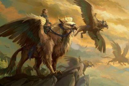 Грифон, Гриф, Грип, Ноготь птица, чудовище гибрид льва и орла