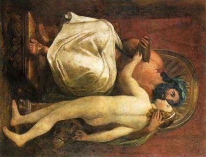 Любовь между мужчинами в мифах Древней Греции