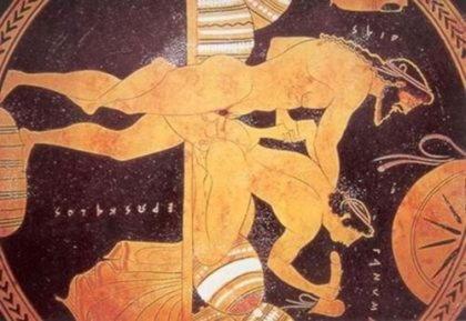 Гомосексуализм в мифах древней греции