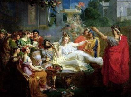 Древнегреческий миф дамоклов меч