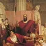 Дамокл   придворный, который завидовал трону сиракузского тирана
