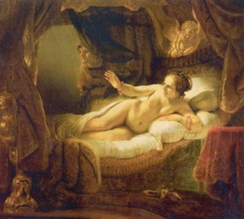 Даная, аргосская царевна, мать Персея, возлюбленная Зевса