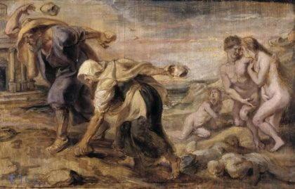 Девкалион, сын Прометея, праотец человечества