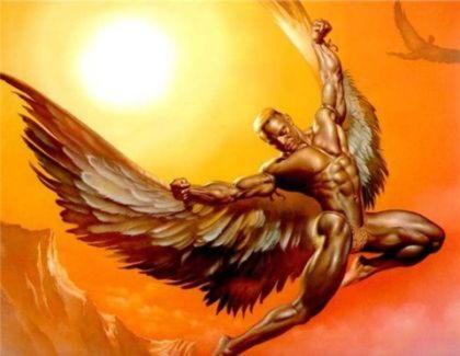 Дедал, величайший греческий изобретатель, скульптор и художник