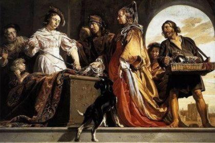 Деидамия, мать Неоптолема, сына Ахилла