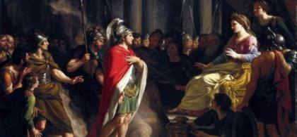 Дидона, царица основательница Карфагена, полюбившая Энея