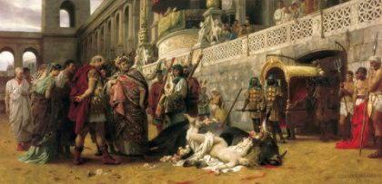 Дирка, фиванская царица, разодранная быками