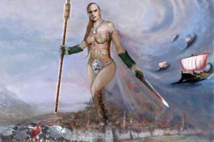Дуэллона, древнее имя Беллоны, боги войны