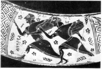 Зет, сын Борея, брат Калаида, крылатый герой Греции
