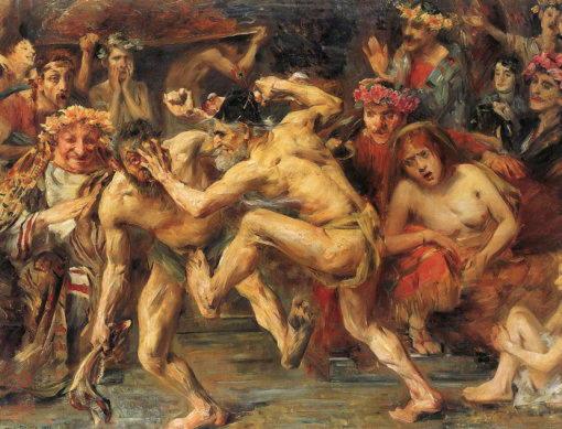 Ир, нищий, который пытался выгнать Одиссея со своего места