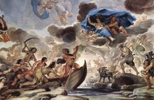 Ирида, богиня радуги и вестница богов Олимпа