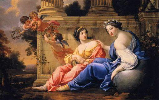 Музы Урания и Каллиопа