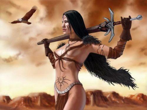 Ипполита (Гипполита), дочь Ареса, царица амазонок