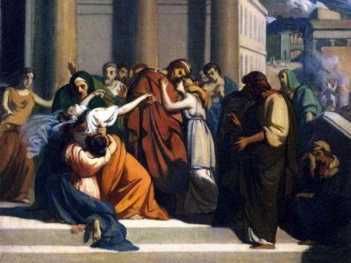 Иокаста, царица Фив, мать и жена Эдипа