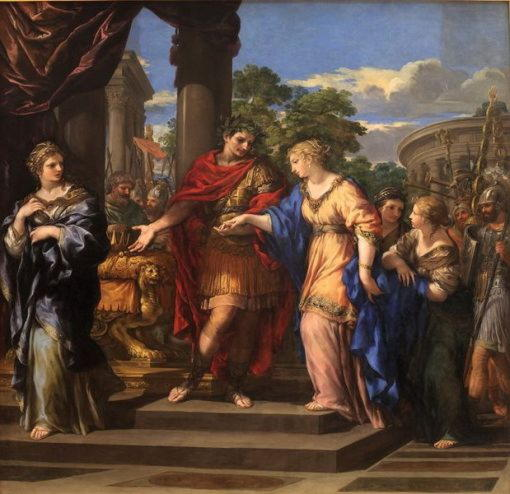 Клеопатра, мифические дочери Борея, Идаса и Троса, а также последняя египетская царица