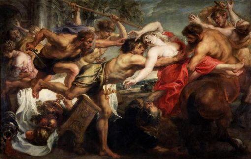 Рубенс, «Похищение Гипподамии»