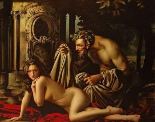Мифологические образы в картинах художника Алексея Головина
