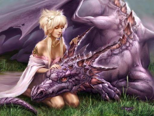 дракон принцесса