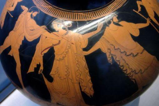 Марпесса и Зевс разделяют Идаса и Аполлона