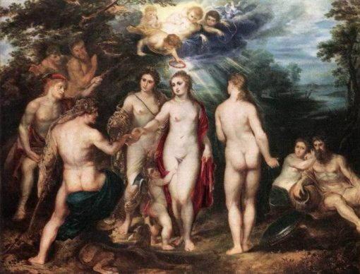 Похищение дочерей Левкиппа Рубенс