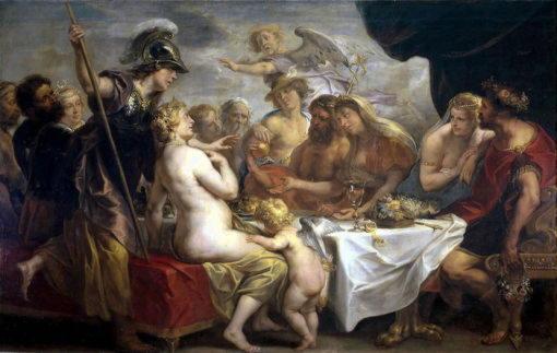 Золотое яблоко раздора (Якоб Йорданс (1593–1678)