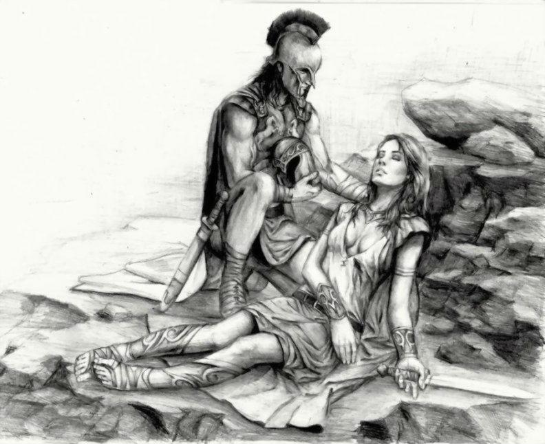 Ахил и Пенфесилёя