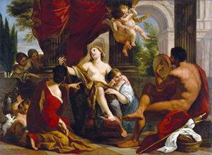 Геркулес и Омфала,Гарци Луиджи.