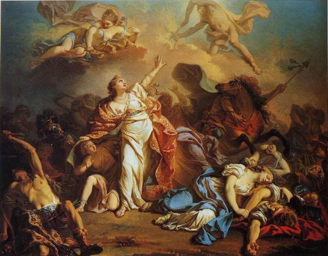 Наказание фиванской царицы
