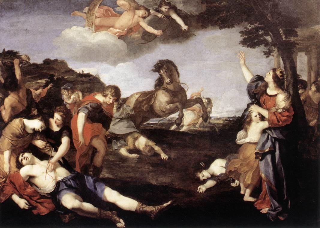 Ниоба (Ниобёя), греч — дочь Тантала и Дионы, жена фиванского царя Амфиона.