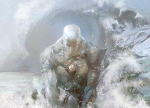 Океан, греч. — сын Урана и Геи, старейший из Титанов.