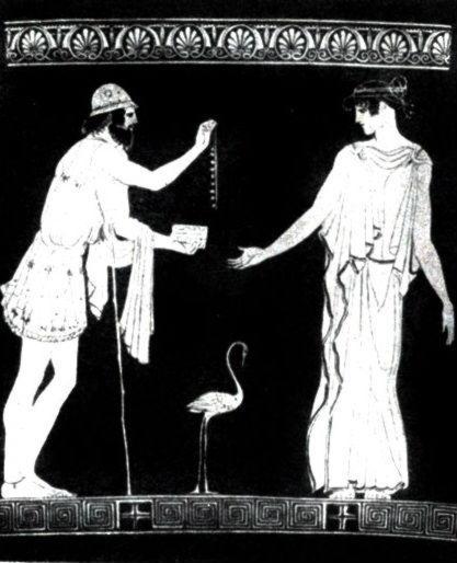 Полиник, предлагающий ожерелье Эрифиле