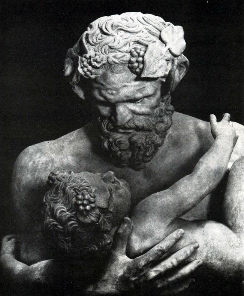 Силен с младенцем Дионисом