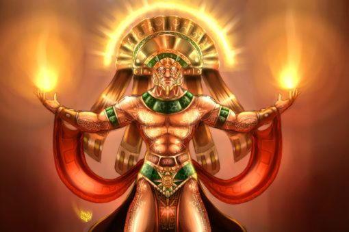 бог солнце инка