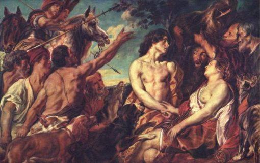 Мелеагр и Аталанта Якоб Йорданс