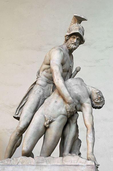 Менелай с телом Патрокла, I век