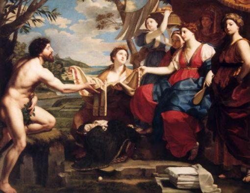 Michele Desubleo - Одиссей и Навсикая.