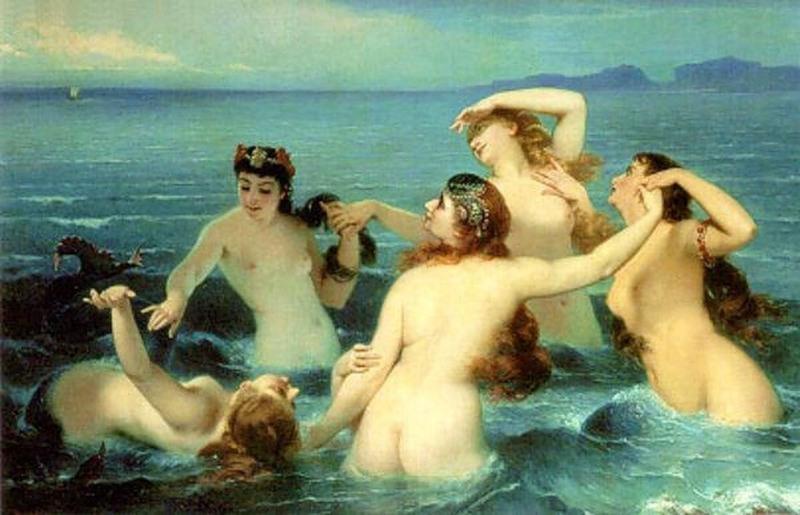 Наяды, греч. — нимфы вод, самая многочисленная группа низших божеств греческой и римской мифологии.