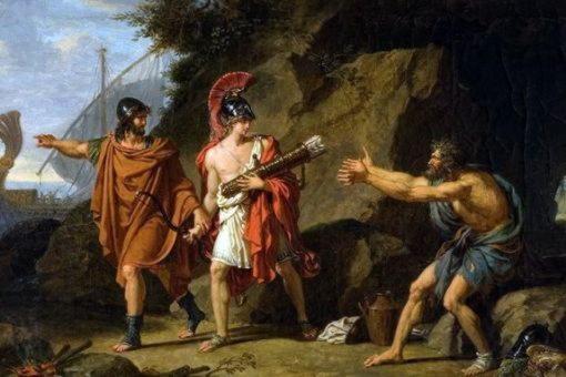 одиссей неоптолем стрелы геракл филонет