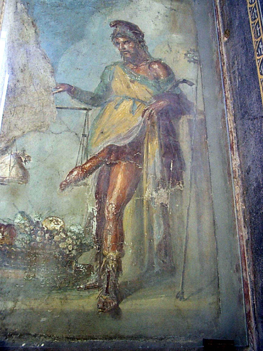 фреска приама